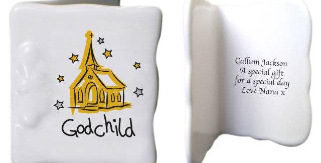 Church Godchild Message Card