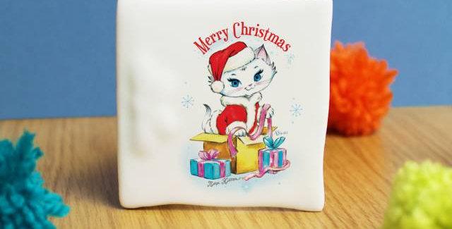 Nina cat ceramic card