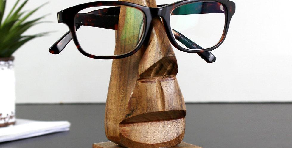 nose shaped glasses holder