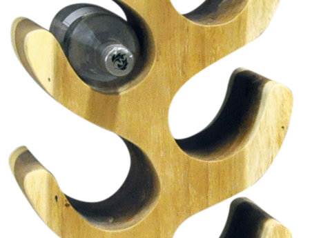 10 Bottle Wood Wine Rack