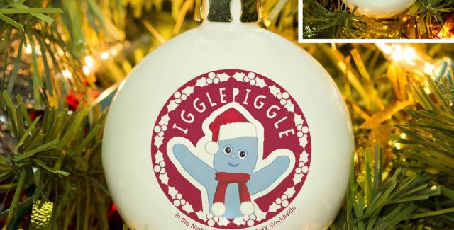 In The Night Garden Igglepiggle Snowtime Bauble