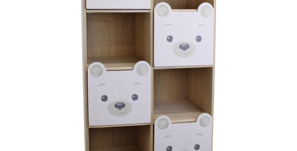 4 drawer bear storage