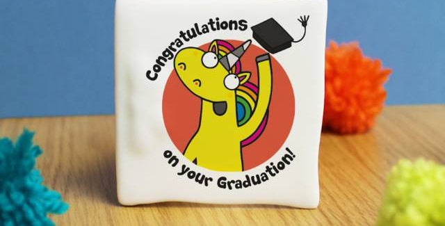 Graduation Message Card