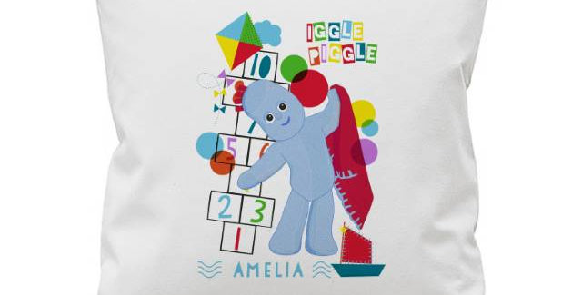 Iggle Piggle Hopscotch Cushion