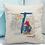 Thumbnail: Paddington Bear Initial Linen Look Cushion