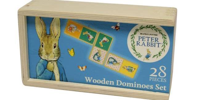Peter Rabbit Wooden Dominoes
