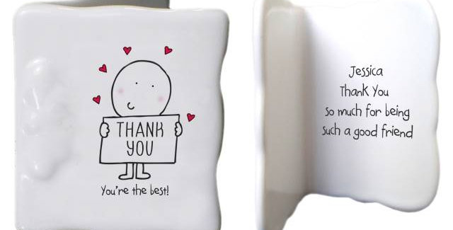 Chilli & Bubbles Thank You Message Card