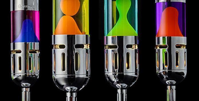 Pod+ candle lava lamp