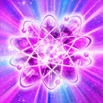 Beams of the violet fire penetrate through the density, rarefying it and eliminating the darkness.
