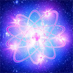 Atom purified by the transmuting action of the alchemical elixir of Saint Germain.