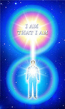 The heart of a man is connected to the I AM Presence by the crystal cord