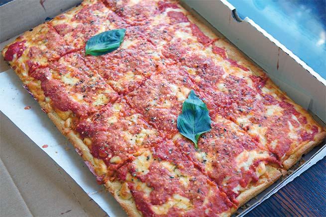 corleone style pizza
