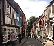 Lincoln Steep Hill Shops