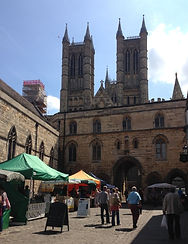 Lincoln Cathedral Square