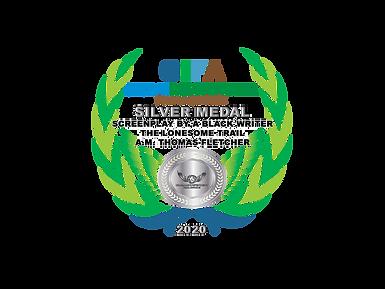 2 Silver Award Laurel WTRBLACK LONESOME