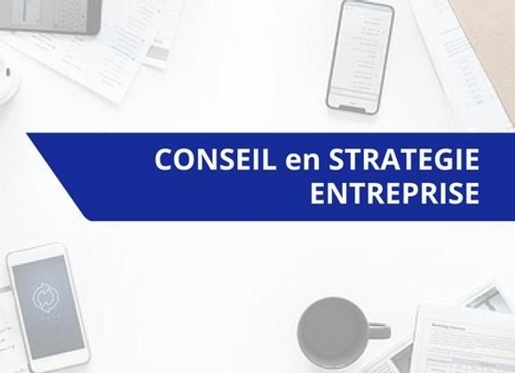 Prestation de conseil en stratégie d'Entreprise