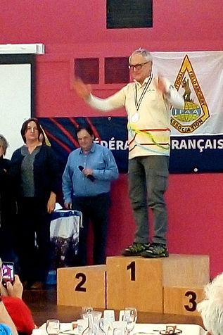 François, Champion de France FFTL 2020
