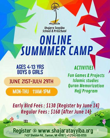 ST Summer Camp Online 2021