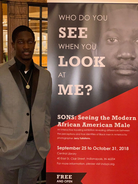 'SONS, SEEING THE MODERN AFRICAN AMERICAN MALE' NATIONAL Exhibit