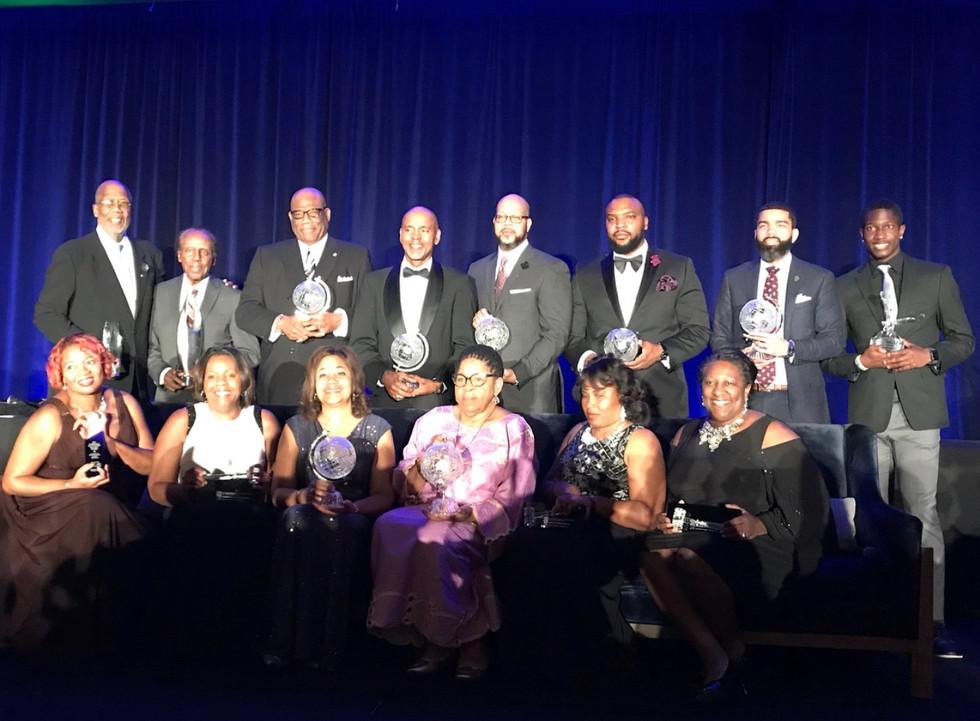 Brandon alongside the other 2017 NBCSL recipients