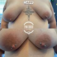 Fresh piercing with anatometal