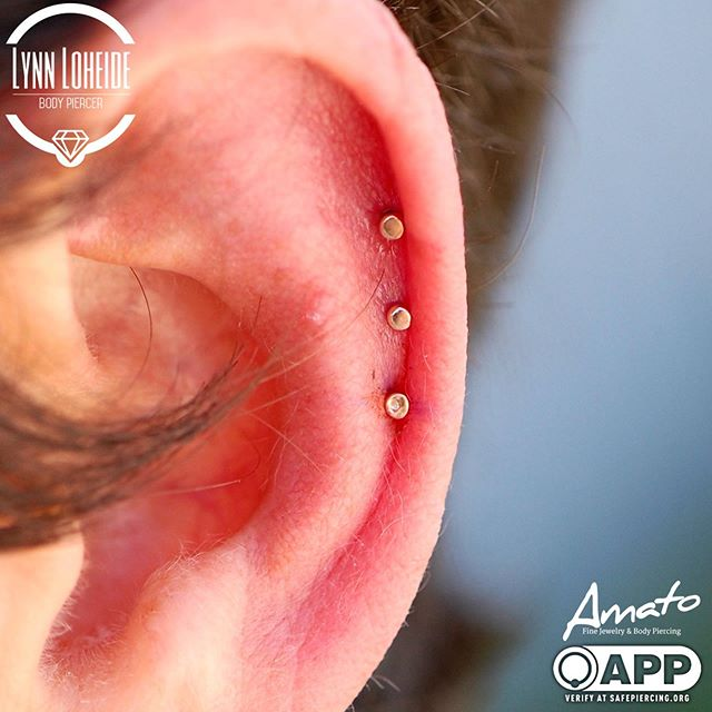 Adorable fresh triple helix with some _b