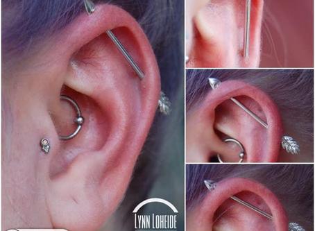 Industrial Piercings 101- A Look at these Popular Ear Piercings