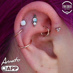 Fresh flat and forward helix with some _