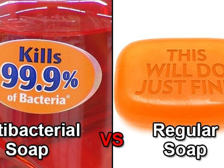Antibacterial Soap- Overrated and Overused