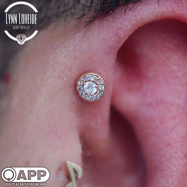 Fresh forward helix with _bodygems #appm