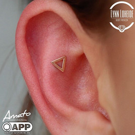 This _bodygems open triangle was the perfect fit for the fun outer conch piercing.jpg