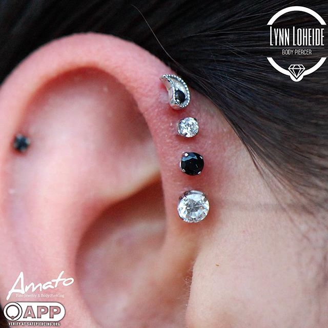 This quadruple forward helix was back in