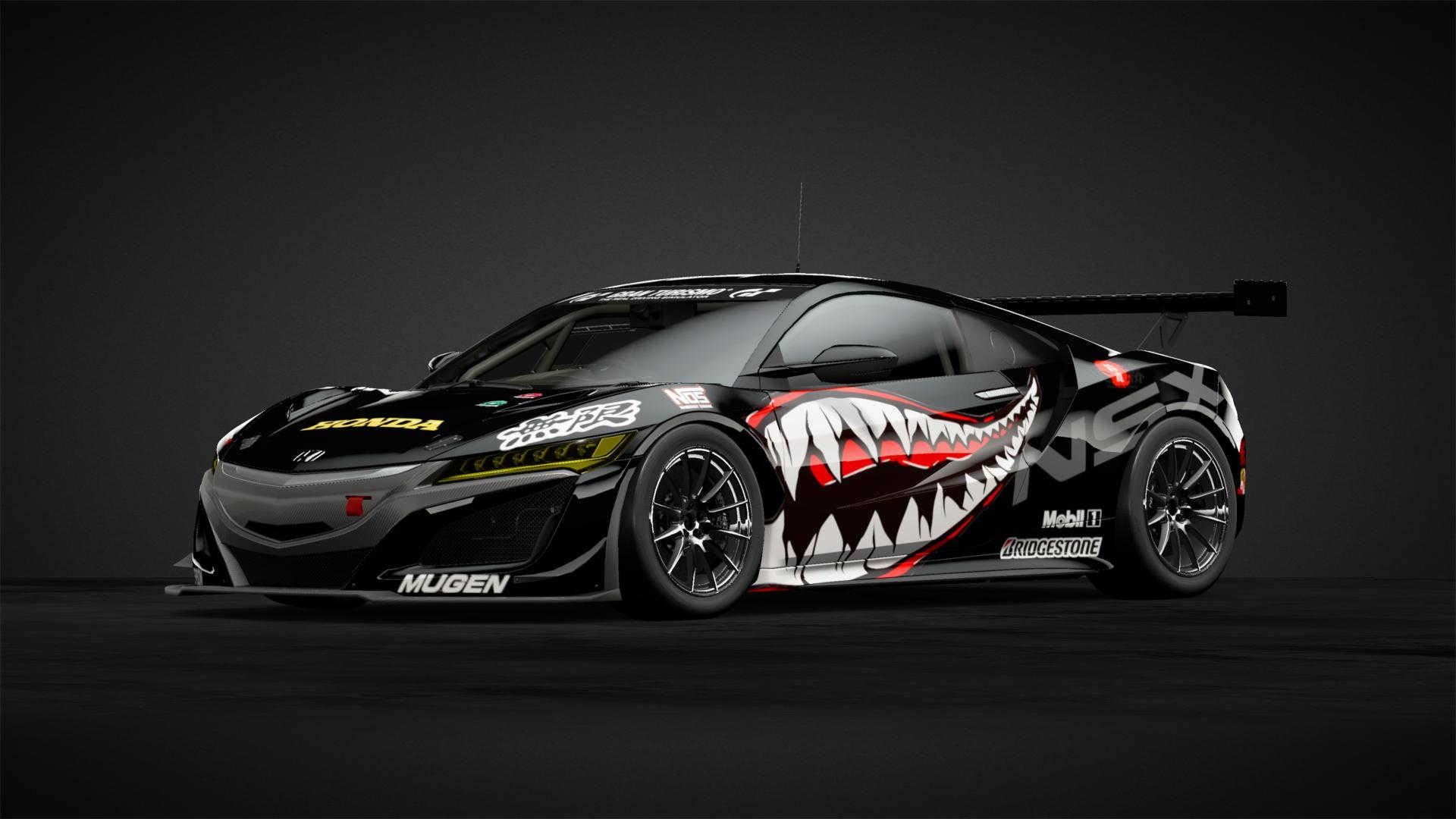 Honda NSX racing livery