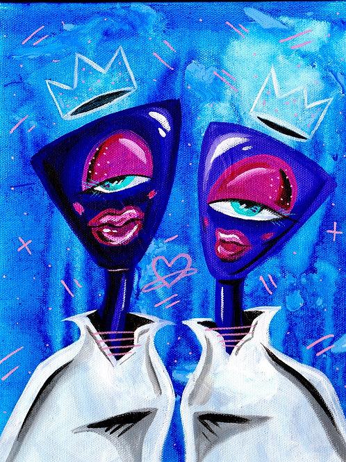 Galactic Couple