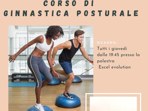 Parte il nuovo corso di ginnastica posturale 2021-22