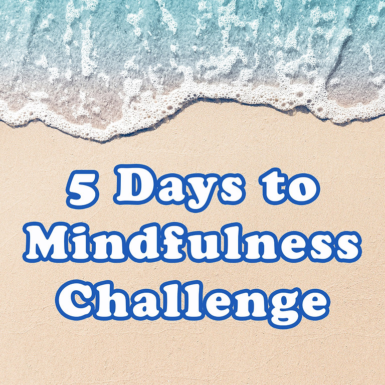 Free 5 Day Challenge - Mindfulness guided by Liz Hargreaves