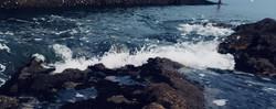 Photographie entre terre et mer