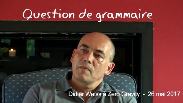 Question de grammaire