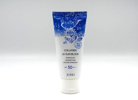 JUNO Collagen UV Sun Block Korea - Kem Chống Nắng Collagen. PRICE FOR 3 BOTTLES