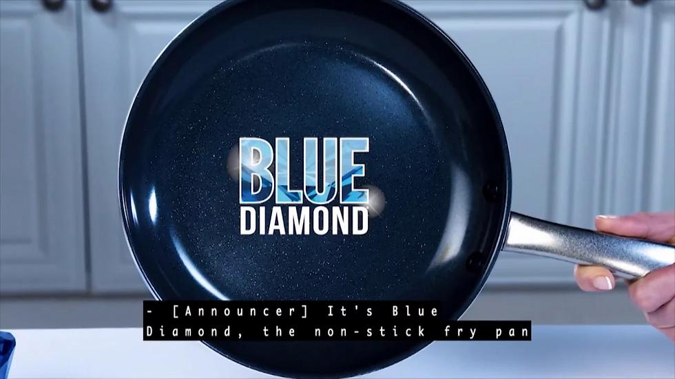 Blue Diamond Pan - Chảo Kim Cương Xanh