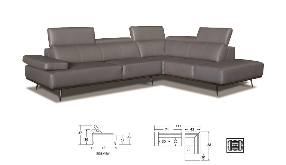 MAGNIE SECTIONAL