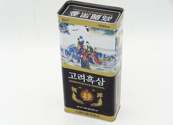 Korean Black Ginseng - Địa Sâm (Sâm Đen Nguyên Củ)