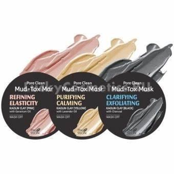 THE YEON Clarifying Exfoliating Pore Clean Black Mud Tox Mask 2.82 oz- Bùn Khoán
