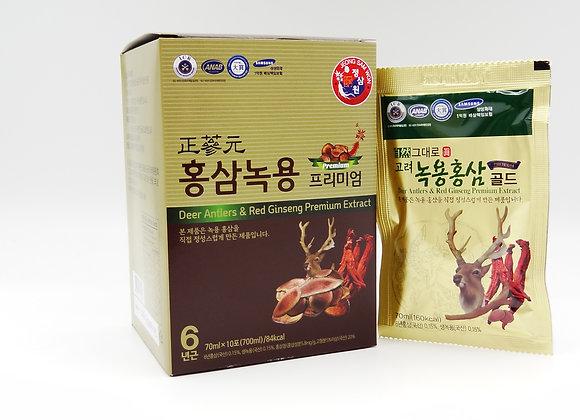 Deer Antlers & Red Ginseng Premium Extract - Nhung Hươu & Hồng Sâm Dạng Nước