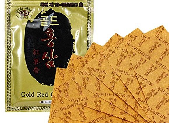 Gold Red Ginseng Salon Pad Korea - Miếng Dán Hồng Sâm Vàng.BUY2GET1. PRICE FOR 3