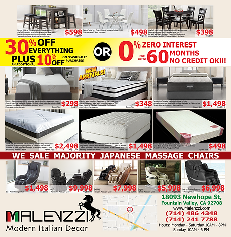 new Malenzzi AD - (page 1) Sale END 5-15