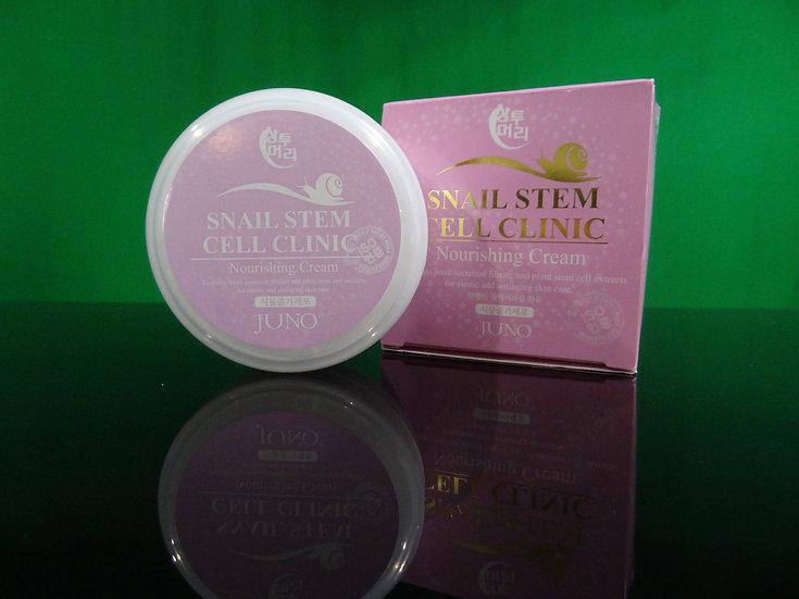 SNAIL STEM CELL CLINIC- Nourising Cream- Kem Dưỡng Trắng Mịn Da Ốc Sên