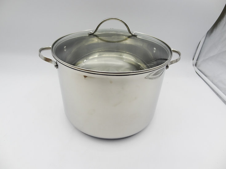 SET OF 1O STAINLESS STEEL PIECES, ADD 1 PAN- MADE IN GERMANY-Nồi  10 miền 1 chao
