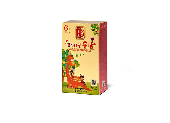 Kid Korean Ginseng Liquid - Hồng Sâm Trẻ Em Dạng Nước Korea