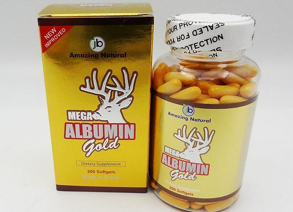 Mega Albumin Gold 200 Pills - 200 Viên. Buy 2 Get 1 Free. PRICE FOR 3 BOTTLES